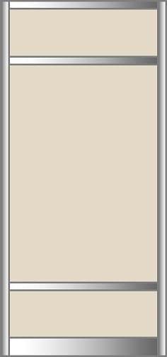 Door - 3 Panel Modern